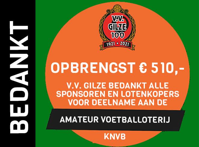 De uitslag van de Amateurvoetbal Loterij is bekend!