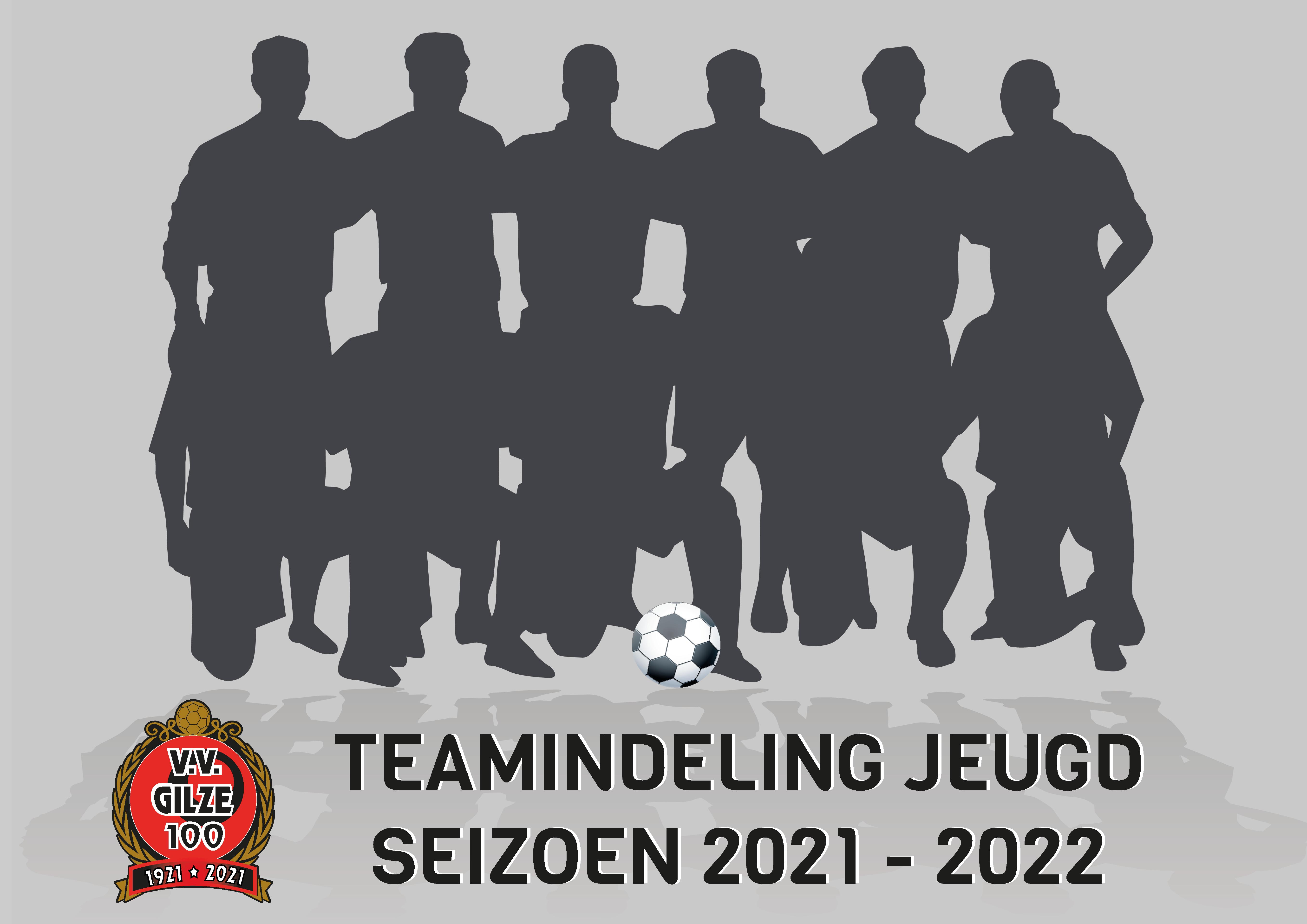 Teamindeling jeugd seizoen 2021/2022 is bekend