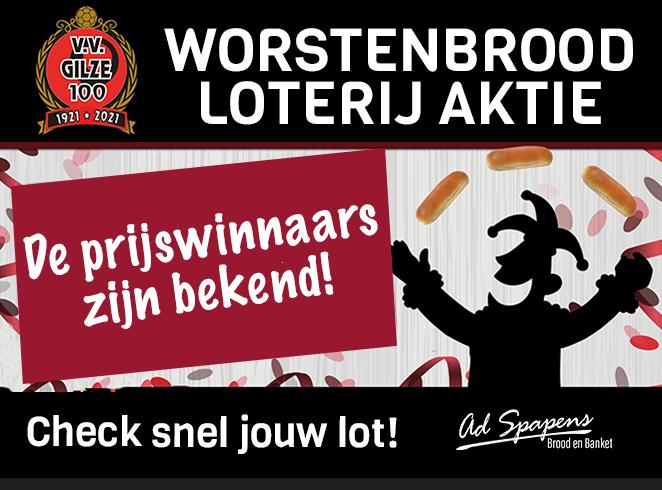 Winnaar 2e prijs Worstenbrood loterijaktie meldt zich ook