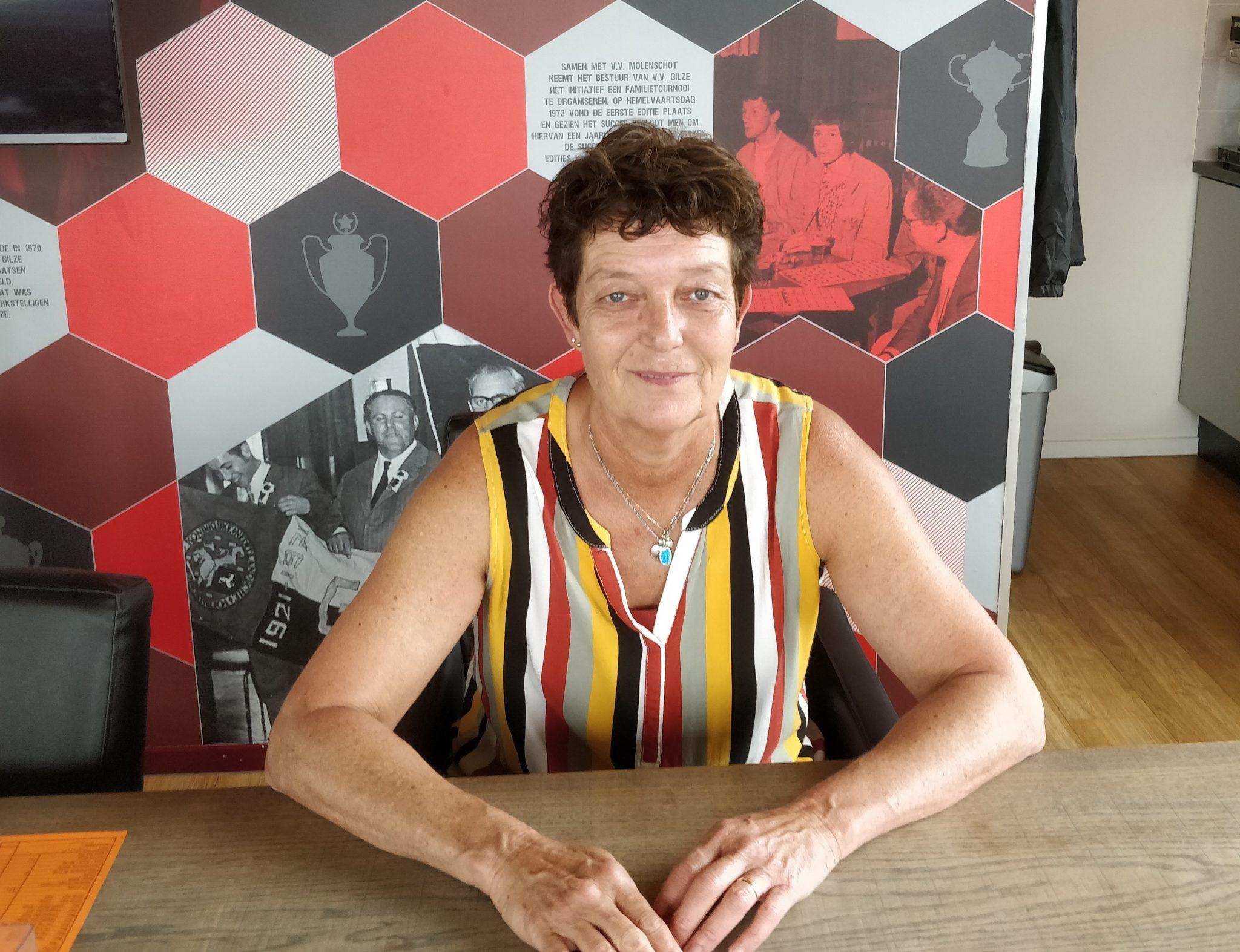 Sylvia Aarts stopt op het wedstrijdsecretariaat
